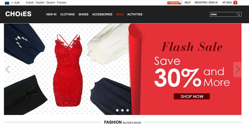 shopping online Choies