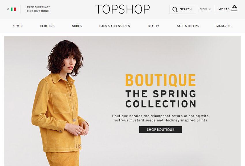 shoppingOnLineTopshop