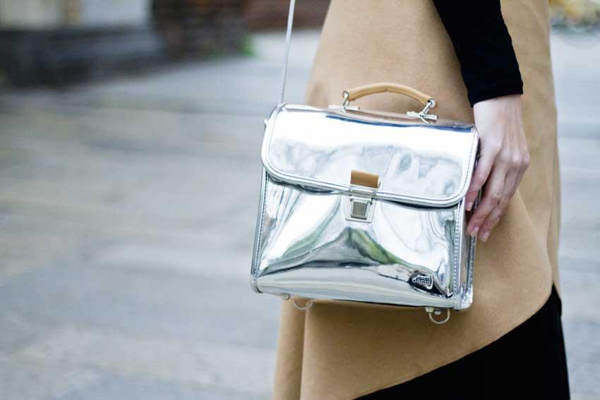 borse metallizzate