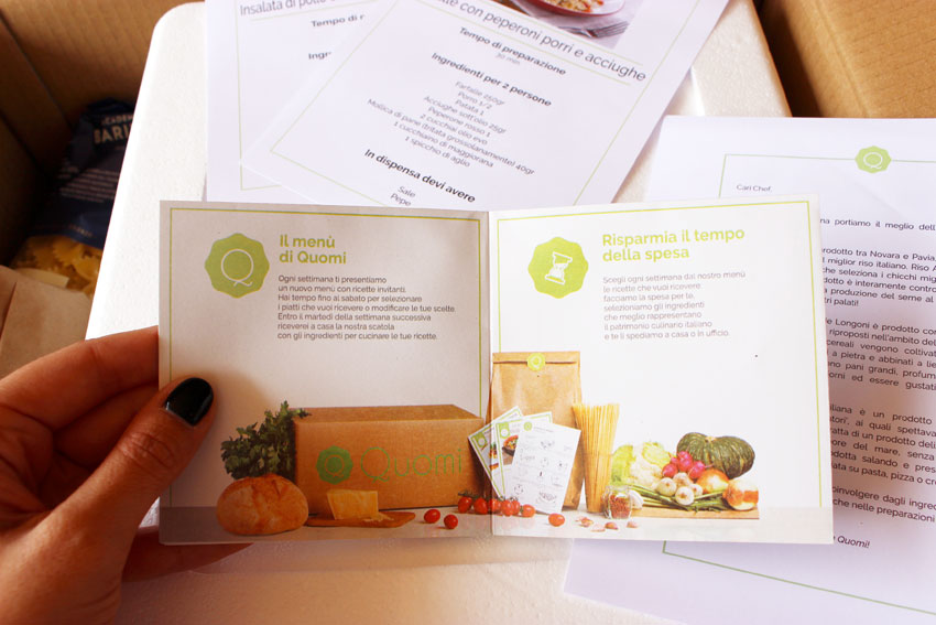 ingredienti per ottimi piatti
