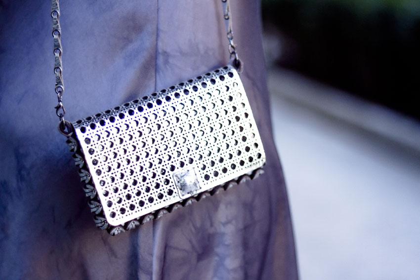 borsa metallizzata almala bags