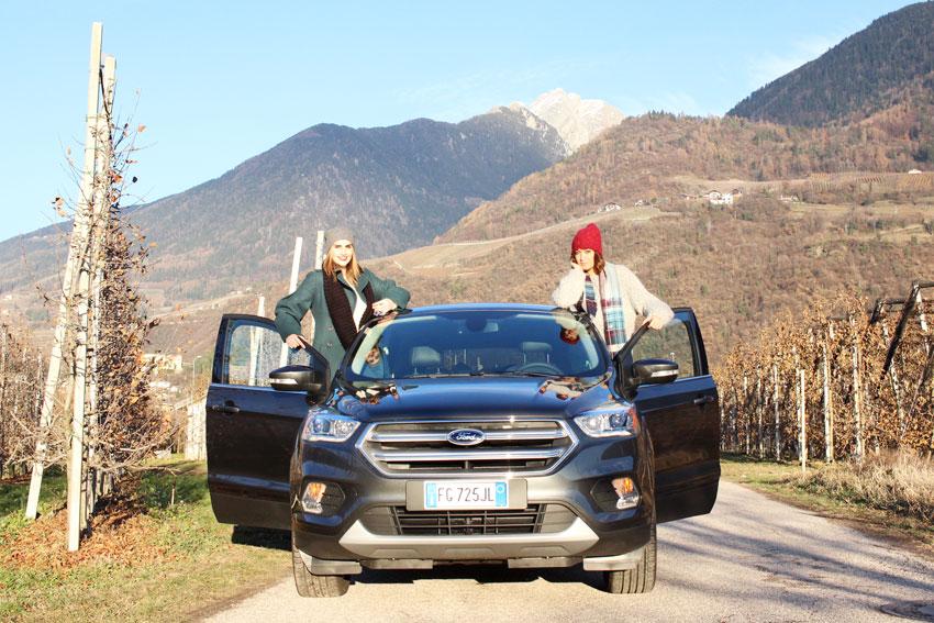 Natale in Alto Adige con Ford Kuga