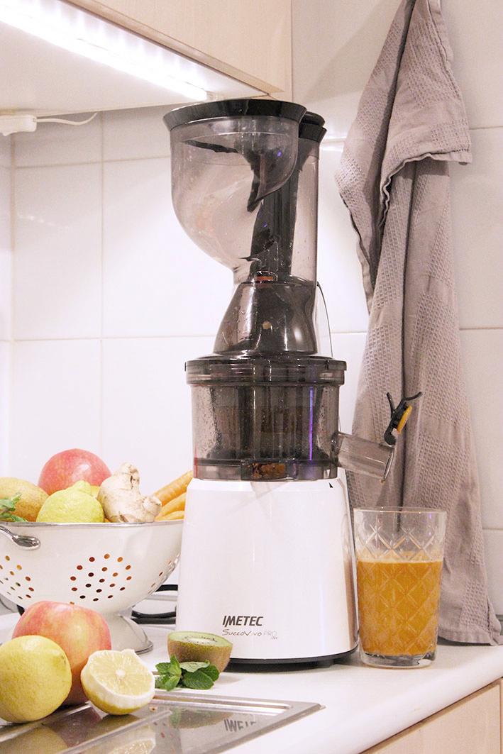 Come assumere piu frutta e verdura l 39 estrattore a freddo for Imetec estrattore