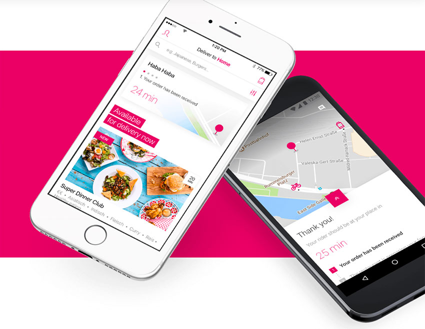 cibo a domicilio food delivery