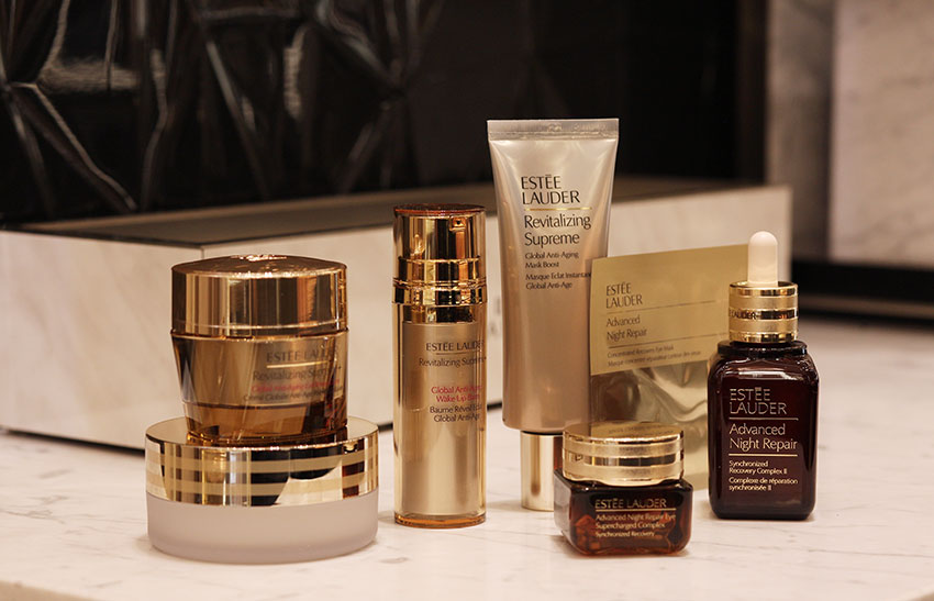beauty routine sposa Estee Lauder