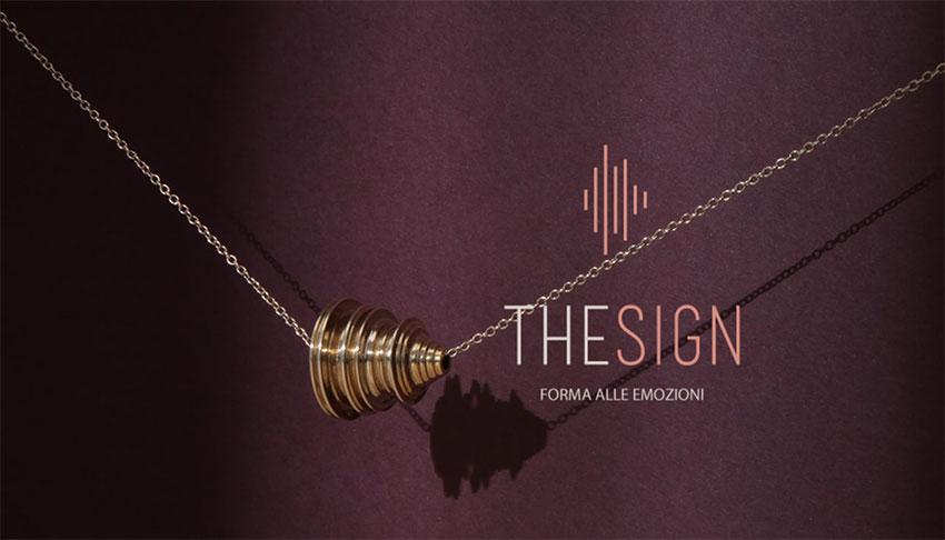 TheSign gioiello con la voce