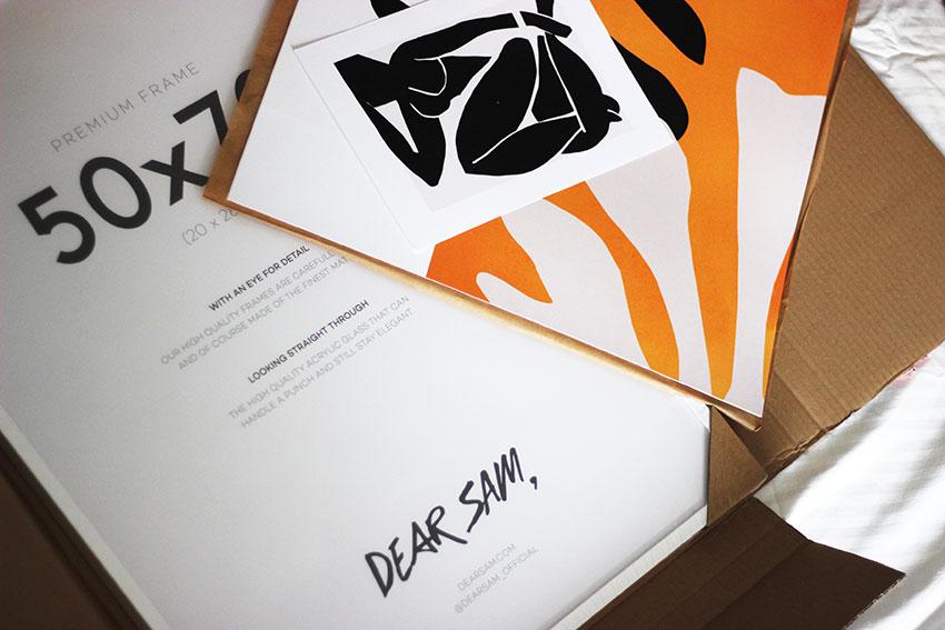 poster Dear Sam
